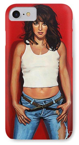 Ellen Ten Damme Painting IPhone Case by Paul Meijering