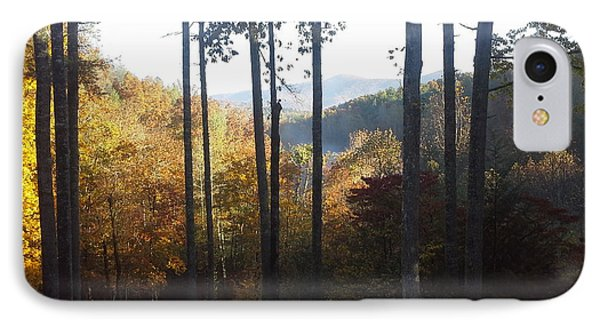 IPhone Case featuring the painting Ellijay Color by Jan Dappen