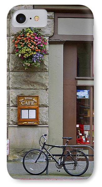 IPhone Case featuring the photograph Elliott Bay Cafe by Wayne Meyer