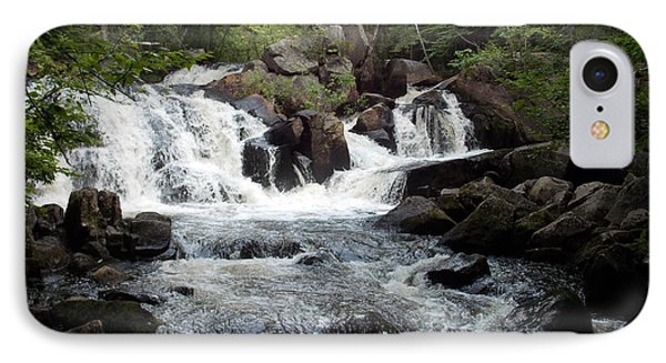Ellis Falls In Maine IPhone Case by Catherine Gagne