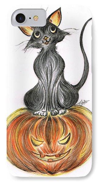 Elma's Pumpkin IPhone Case by Teresa White