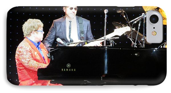 Elton Plays The Blues In Macon Ga Phone Case by Aaron Martens