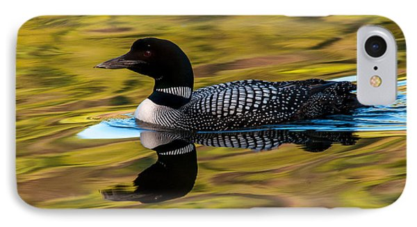 Elusive Loon IPhone Case by Sabine Edrissi