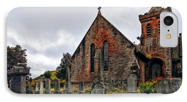 Elvanfoot Parish Church Phone Case by Marcia Colelli