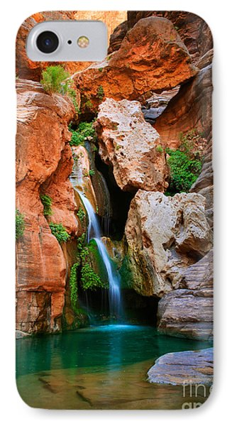 Elves Chasm IPhone 7 Case by Inge Johnsson