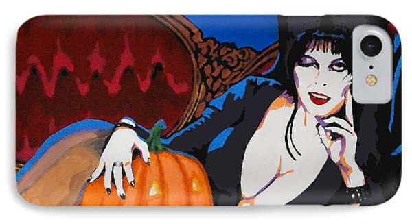 Elvira Dark Mistress IPhone Case