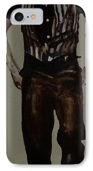 IPhone Case featuring the painting Elvis 1953 by Eric Dee