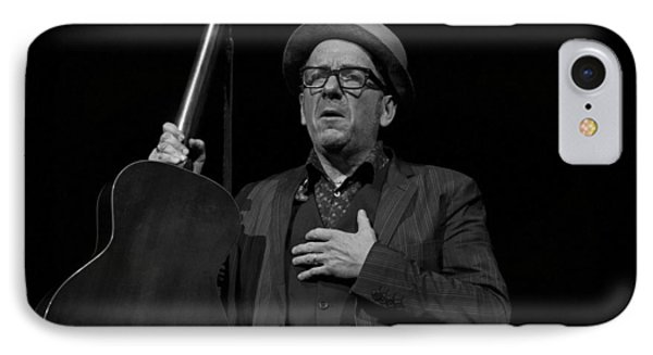 Elvis Costello IPhone Case by Jeff Ross