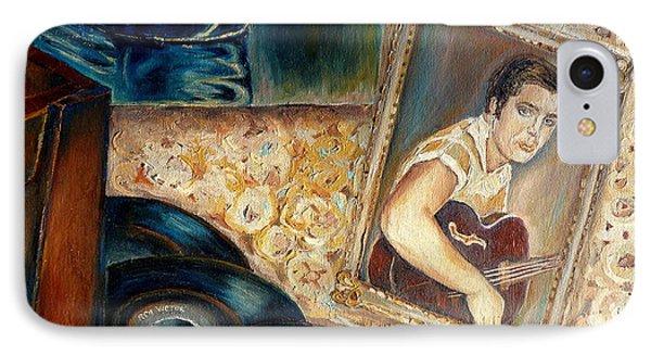 Elvis Country Boy Phone Case by Carole Spandau