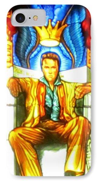 Elvis Phone Case by Crystal Loppie