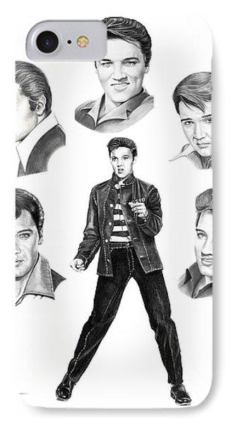 Elvis Elvis Elvis IPhone Case by Murphy Elliott