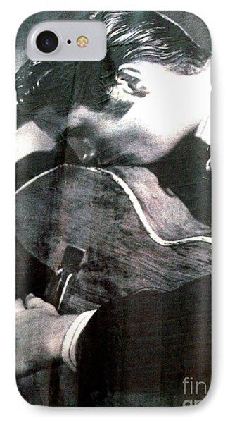 Elvis Gently Weeps Phone Case by David Bearden