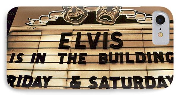 Elvis Is In IPhone Case