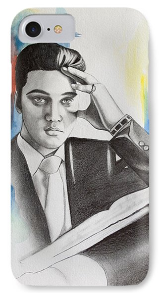 Elvis IPhone Case by Lindsay Pace