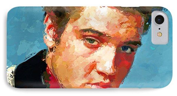 Elvis Portrait 3 IPhone Case