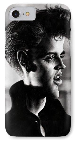 Elvis Presley IPhone Case by Andre Koekemoer