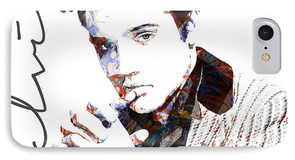 Elvis Presley IPhone Case by Celestial Images