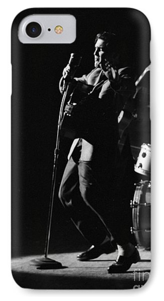 Elvis Presley In Detroit 1956 IPhone Case by The Harrington Collection