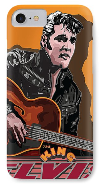 Elvis Presley Phone Case by Larry Butterworth