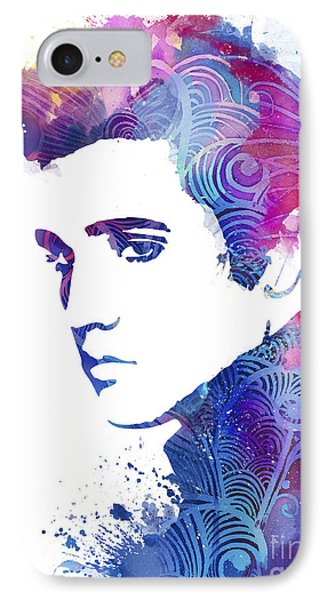 Elvis Presley IPhone 7 Case by Luke and Slavi