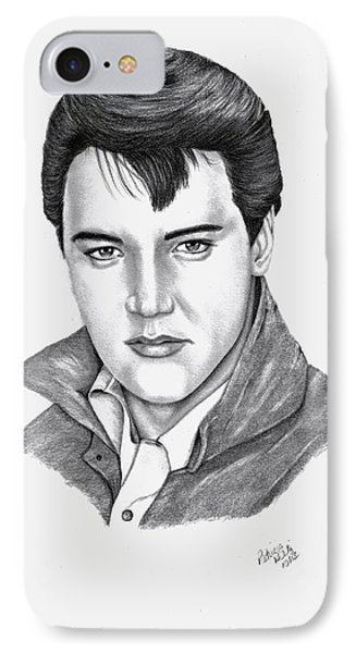 Elvis Presley IPhone Case by Patricia Hiltz