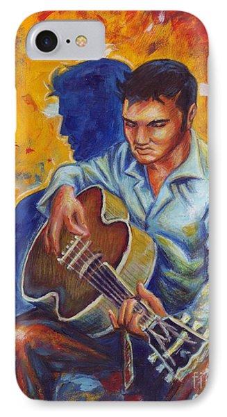 Elvis Presley IPhone Case by Samantha Geernaert