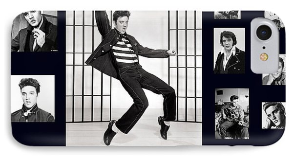 Elvis Presley - The Legend IPhone Case by Darleen Stry