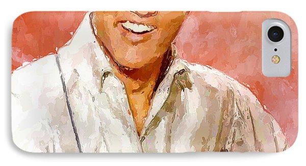 Elvis Singing 3 IPhone Case