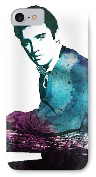Elvis The King IPhone Case by Celestial Images
