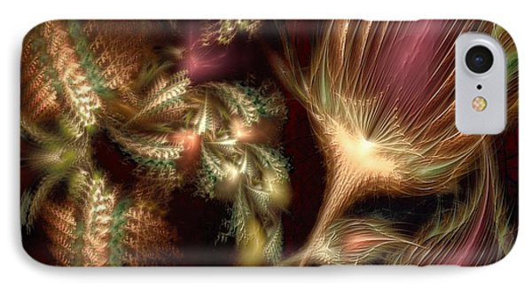 IPhone Case featuring the digital art Elysian by Casey Kotas