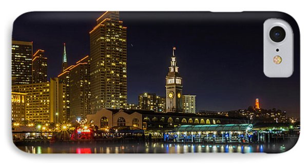 Embarcadero Blue Hour IPhone Case