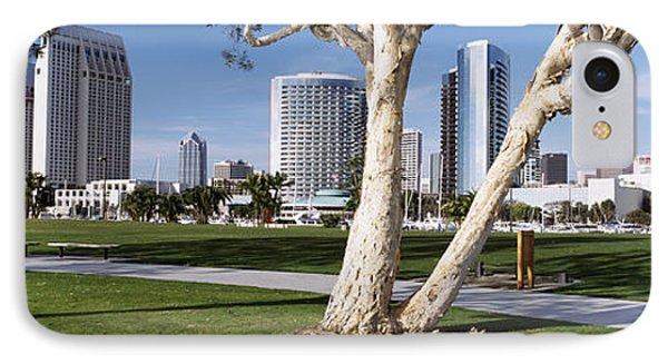 Embarcadero Marina Park, San Diego IPhone Case