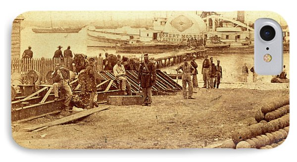 Embarkation For White House, From Yorktown IPhone Case