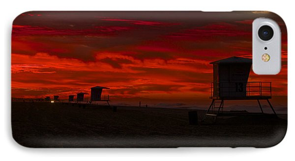 IPhone Case featuring the photograph Embers Of Dawn by Duncan Selby