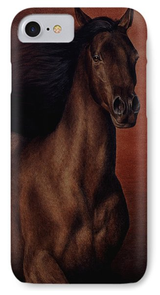 IPhone Case featuring the painting Embers by Pat Erickson