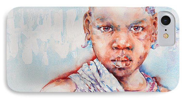 Embolden - African Portrait Phone Case by Stephie Butler