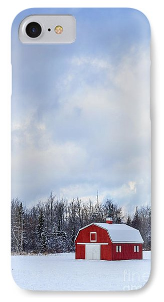 Embrace The Cold IPhone Case by Evelina Kremsdorf
