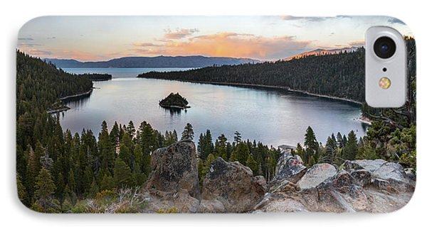 Emerald Bay Lake Tahoe IPhone Case