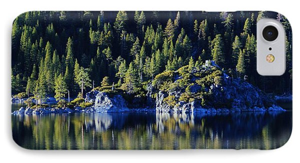 IPhone Case featuring the photograph Emerald Bay Teahouse by Sean Sarsfield