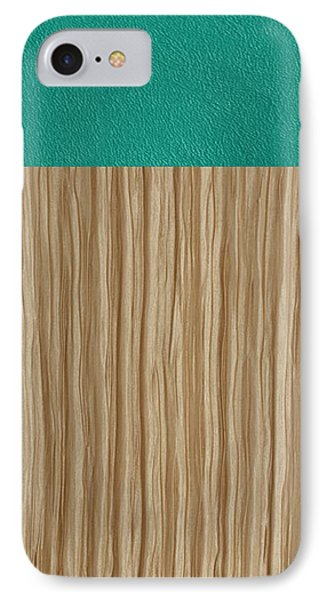 Emerald Cashmere Phone Case by Margaret Ivory