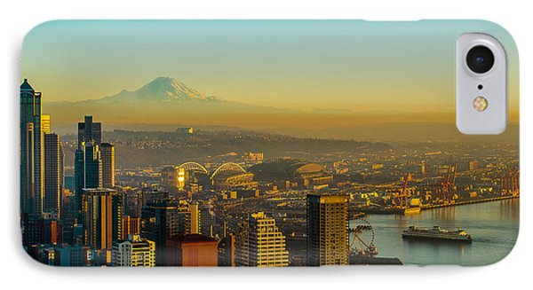Emerald City Shining Bright IPhone Case