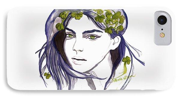 Emerald Eyes IPhone Case by D Renee Wilson