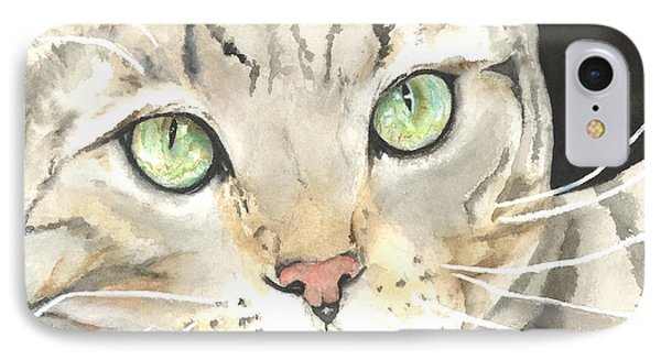 Emerald Eyes Phone Case by Kimberly Lavelle