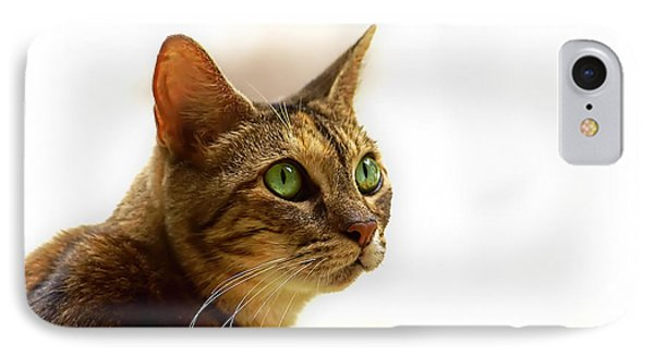 IPhone Case featuring the photograph Emerald Eyes by Olga Hamilton