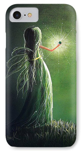 Emerald Fairy By Shawna Erback Phone Case by Shawna Erback