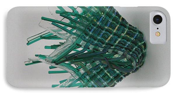 Emerald Glassket Phone Case by Steven Schramek