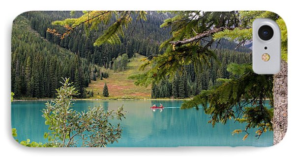 Emerald Lake British Columbia IPhone Case by Lynn Bolt