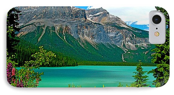 Emerald Lake In Yoho Np-bc IPhone Case by Ruth Hager