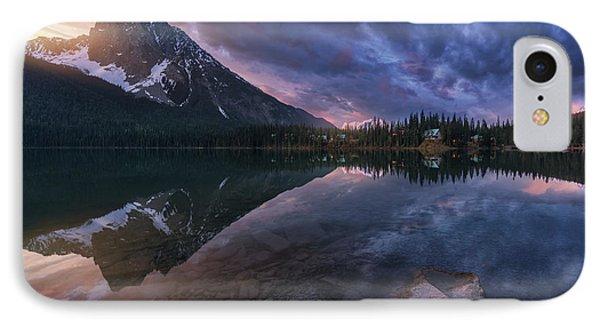 Rocky Mountain iPhone 7 Case - Emerald Light. by Juan Pablo De