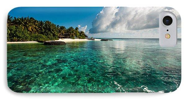 Emerald Purity. Kuramathi Resort. Maldives Phone Case by Jenny Rainbow